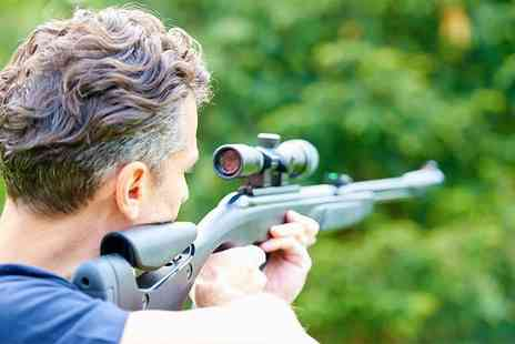 Rifleman Firearms - One hour have a go air rifle session with unlimited pellets for two people - Save 42%
