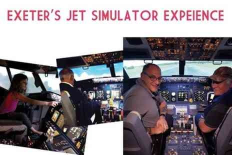 Devon Flight Simulator - Airline Pilot Experience - Save 0%