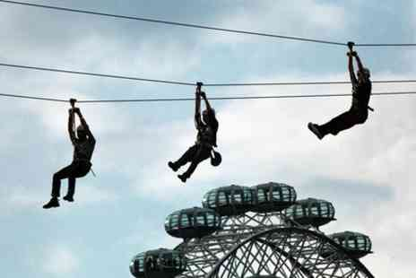 Zip Now London - Zip Wire Experience - Save 0%