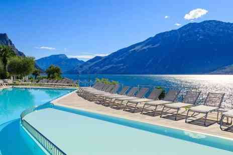 Crystal Travel - Three nights all inclusive Lake Garda holiday with return flights - Save 35%