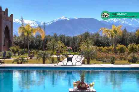 Weekender Breaks - Five Star Two nights luxury Marrakech getaway with breakfast and return flights - Save 22%