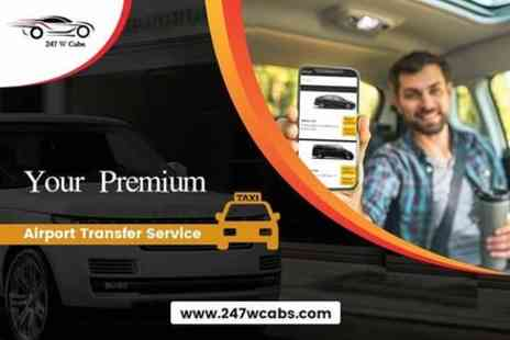 247 W Cabs - Luton Airport Taxi - Save 0%