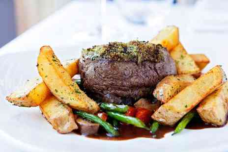 315 Bar & Restaurant - 2 AA Rosette fillet steak meal for Two - Save 49%