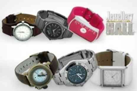 Jewellery Hall - £20 for £50 to Spend on Designer Watches - Save 60%