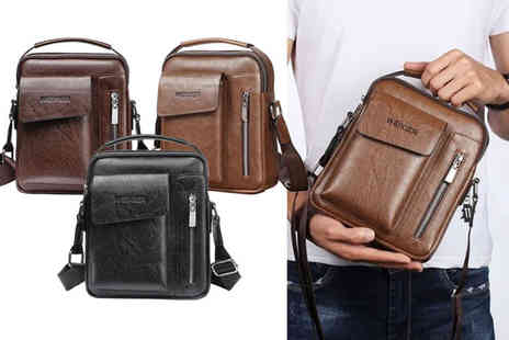 MBLogic - Mens cross body bag - Save 67%