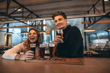 The Ferry Brewery Co - 90 minute VIP brewery tour for two people with a tasting session, digital photos, three pints each, bar snacks and bottled beers to take home - Save 59%