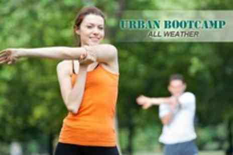 Urban Boot Camp - Eight Boot Camp Sessions - Save 70%