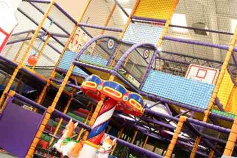 Fourways Play Centre - Soft Play Entry and Large Cup of Squash for Two or Four Children - Save 52%