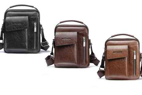 Groupon Goods Global GmbH - Mens Multi Compartment Bag - Save 0%