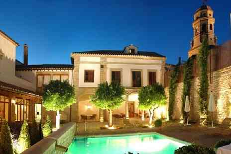 Hotel Puerta De La Luna - Four Star 17th Century Mansion in UNESCO World Heritage Town for two - Save 72%