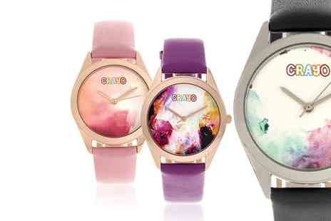 Heritor - Graffiti ladies watch choose from six colours - Save 76%