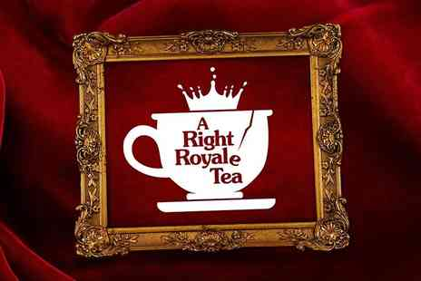 BoRo Live Experiences - Childs ticket to Right Royale Tea comedy show and afternoon tea - Save 35%