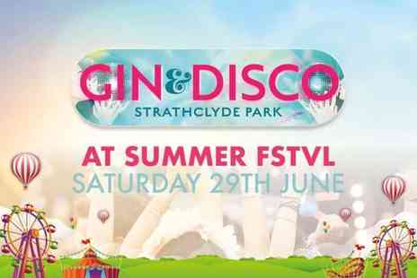 M&Ds Theme Park - Entry to Gin and Disco Summer FSTVL on 29th June - Save 47%