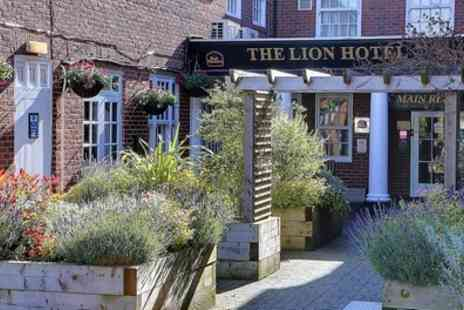 BEST WESTERN Lion Hotel - Standard or Executive Double Room for Two with Breakfast - Save 0%