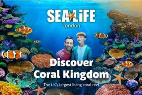 Sea Life London Aquarium - Entry for One or Two - Save 39%