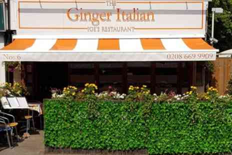 The Ginger Italian - Two Course Italian Meal with Wine or Beer for Up to Four - Save 52%