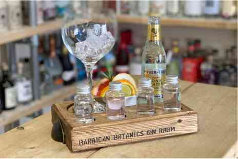 The Barbican Botanics Gin Room - Gin Flight Self Guided Tasting for Two - Save 0%