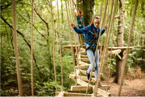 Virgin Experience Days - Full High Ropes Treetop Zip Trek and Nets Experience - Save 0%