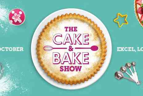 The Cake & Bake Show -  Live bake offs, skills classes and demonstrations by renowned bakers Plus Kids go Free - Save 46%