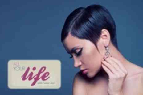 All Your Life - Brazilian Blow Dry or Restyle or Cut With Colour - Save 70%