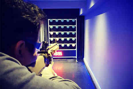 Alpha Guns London - Childs Airsoft shooting range experience with 120 rounds or an adult experience with 150 rounds - Save 40%