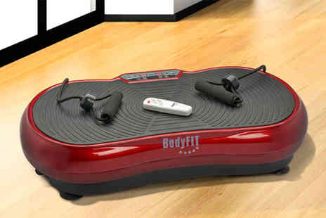 CJ Offers - Body fit compact vibration plate - Save 48%