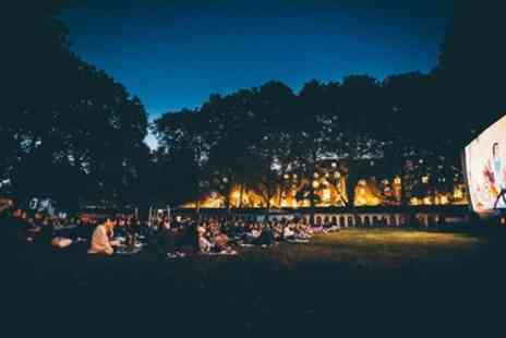 Pop Up Screens - Outdoor Cinema Ticket for One or Two - Save 52%