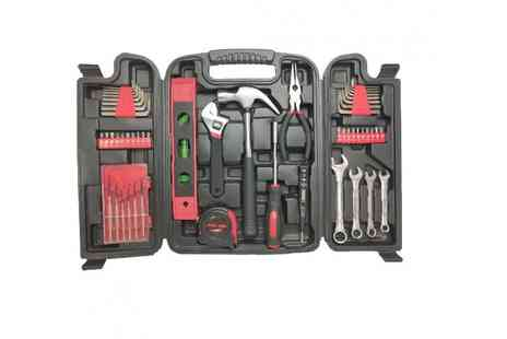 Who Needs Shops - 53pc tool kit with case - Save 76%