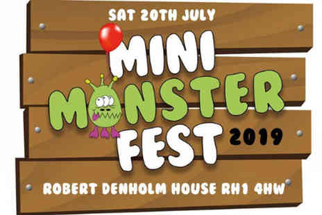 Kix Magazine - One adult ticket and one childs ticket to the Mini Monster childrens music festival on the 20th July 2019 - Save 50%