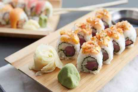 Iso Sushi - Two Course Japanese Meal with Drink for Two or Four - Save 53%