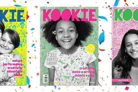 Kookie Magazine - An Award Winning Magazine for Girls Plus Free Delivery - Save 29%