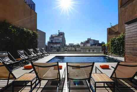 Europark Hotel - Three Star Stylish Hotel with Rooftop Pool in Excellent Location for two - Save 76%