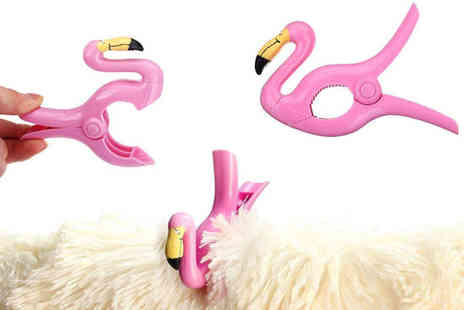 Wow What Who - Flamingo clamp two - Save 75%