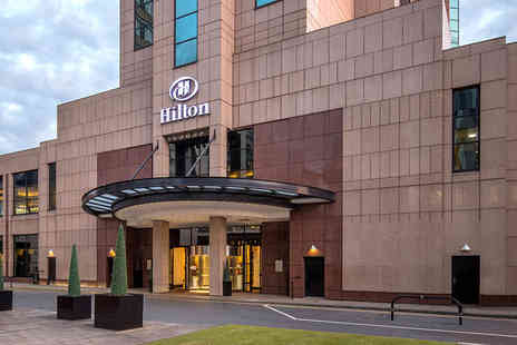 Hilton Glasgow - Leisure access followed by afternoon tea at Tea Lounge by Dilmah for two people or glass of bubbly each - Save 51%