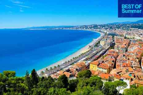 Hotel Beau Rivage - Four Star Contemporary Cote dAzur Retreat for two - Save 79%