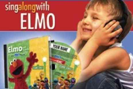 Sing Along With Elmo - Elmo and Sesame Street characters sing along CD with your childs name - Save 50%