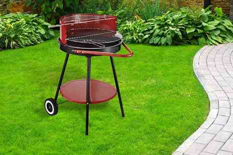 Mhstar - Outdoor charcoal barbecue grill - Save 63%
