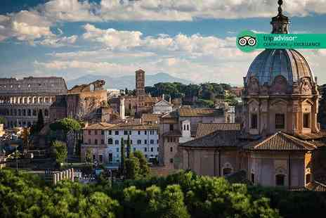 Cheap Cost Travel - Four Star Escape with a two, three or four nights city break to Rome Now with the ability to choose your flight - Save 0%
