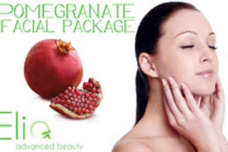 Elia Advanced Beauty - Pamper yourself with a Radiance facial and a booster pamper package - Save 71%