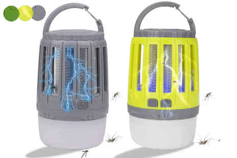 Domo Secret - 2 in 1 electronic bug zapper - Save 75%