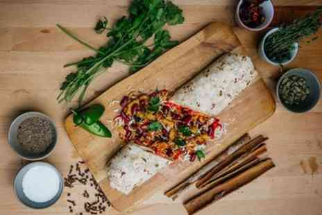 Wrapora - Wrap, Burrito or Bowl with Chips and Drink for Up to Four - Save 44%