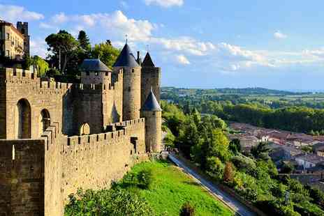 DoubleTree by Hilton Carcassonne - Five Star Lavish Escape to Stunning Medieval City for two - Save 62%
