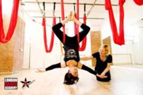 The London Dance - Three 70 minute AntiGravity Yoga classes - Save 53%