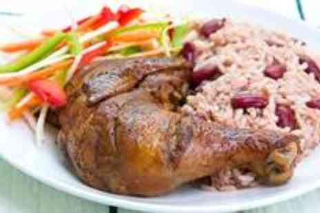 Carib Grill - Two course Caribbean meal for four - Save 62%