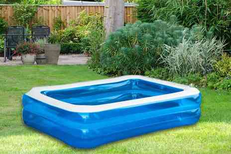 Vivo Mounts - Rectangular inflatable swimming pool - Save 58%