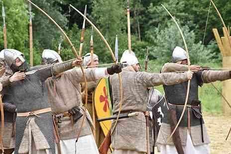 Tutbury Castle - Tickets to the Medieval Tournament with Historia Normannis on 13th or 14th July - Save 53%