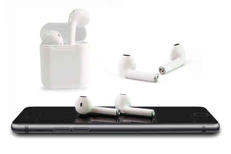 Wow What Who - Pair of i11 Apple compatible earbuds and charging case - Save 78%
