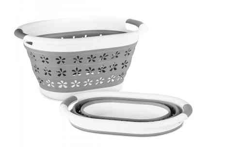 Fusion Online - Flower collapsible laundry basket - Save 0%