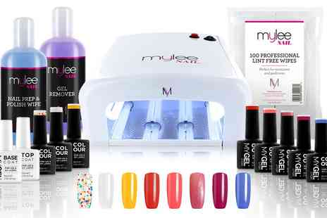 Groupon Goods Global GmbH - Mylee 36W UV Lamp with Optional Gel Nail Essentials Kit - Save 0%