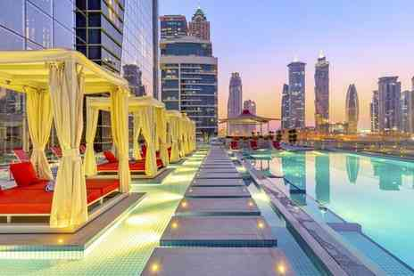 Canal Central Hotel Business Bay - Five Star Lavish City Stay with Spectacular Views - Save 42%